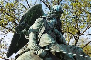 Kriegerdenkmal an der Fontenay
