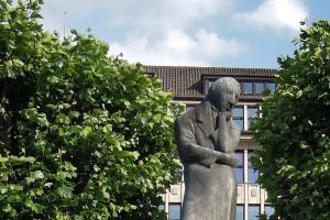Heinrich Heine-Denkmal, Rathaus Hamburg