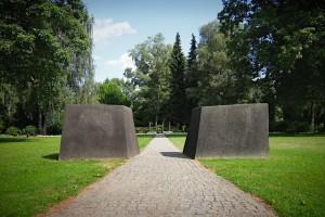Eingang zum Gräberfeld