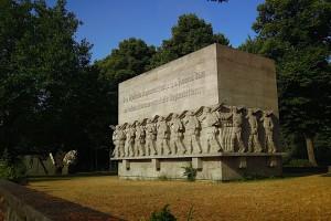 Das 76er Denkmal am Dammtordamm