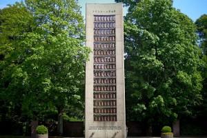 Mahnmal für die Opfer von NS-Verfolgung auf dem Ohlsdorfer Friedhof