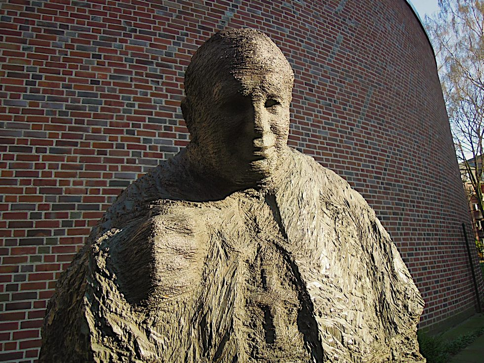 Porträt des Denkmals für Johannes Paul II.