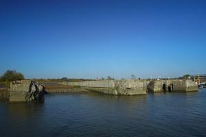Die Bunkerruine Fink II