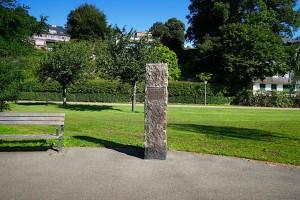 Stehle mit Gedenktafel an die Schwedenspeisung