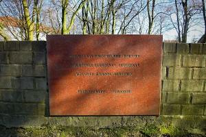 Marmortafel mit einem Satz von Heinrich Heine