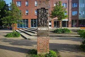 Das Denkmal für die Kinder vom Bullenhuser Damm in Schnelsen-Burgwedel