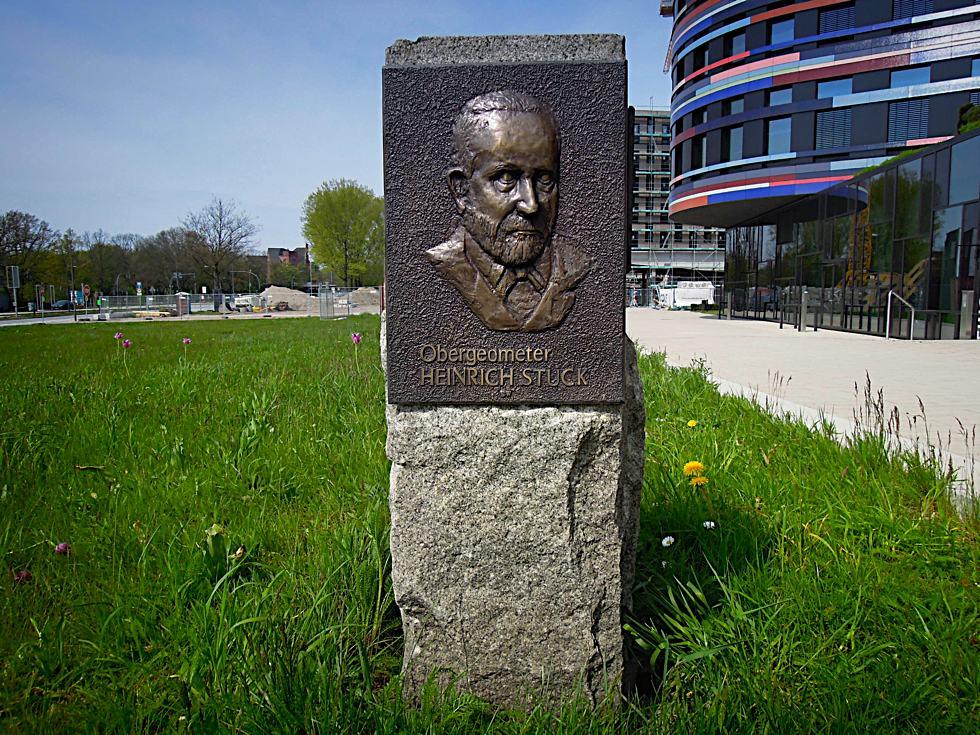 Denkmal für Obergeometer Heinrich Stück